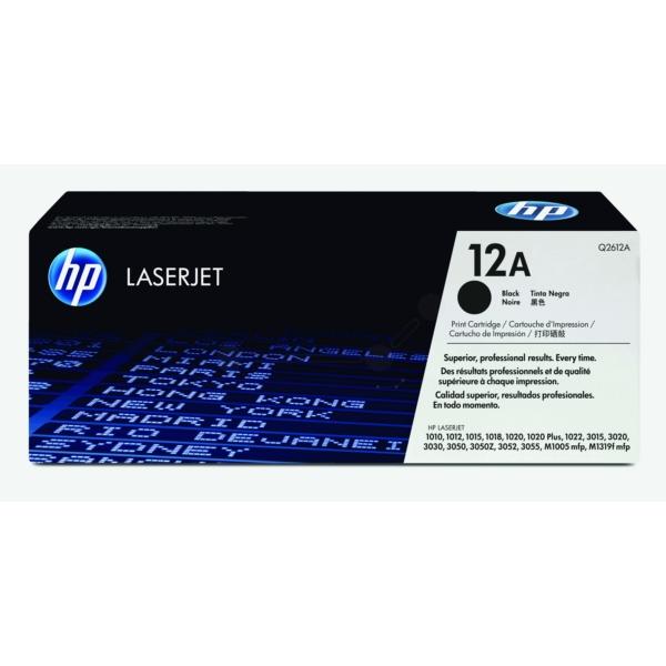 Cartuccia Toner HP Q 2612 A