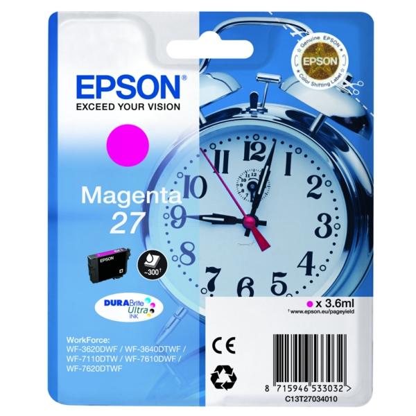 Cartuccia Inkjet Epson C 13 T 27034010